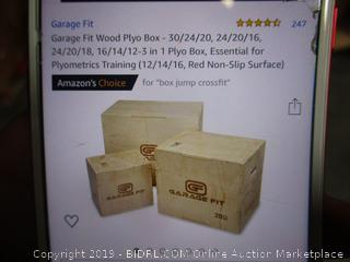 Garage Fit Wood Pylo Boxes