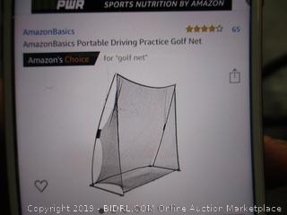 Portable Driving Practice Golf Net