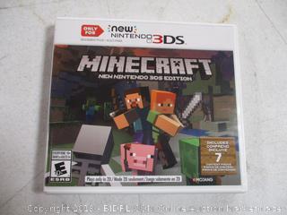 Nintendo 3DS Minecraft