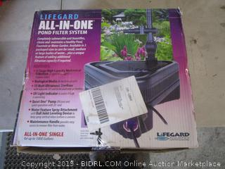 Lifegard All In One Pond Filter System