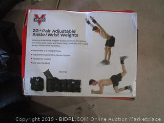 Adjustable Ankle/Wrist Weights
