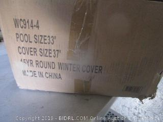 Round Winter Cover