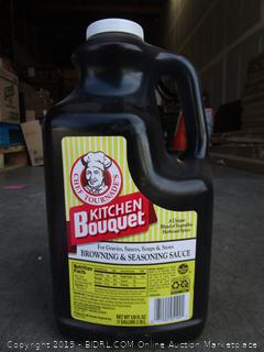 Chef Tournade's Kitchen Bouquet 1-Gallon Jug of Browning & Seasoning Sauce (retail $130)