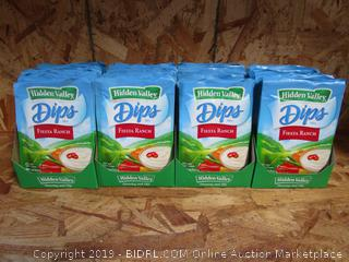 48 x Packets of Hidden Valley Dips Mix: Fiesta Ranch (retail $1.89 per packet)