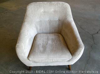 George Oliver Hamlett Armchair - Grey (Online $299.99)