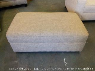 Wayfair Custom Upholstery Storage Ottoman, Color Lucas Ash (Online $504)
