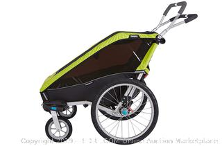 Thule Chariot Cheetah XT Multisport 2 Child Trailer (online $699) Multi-Functional - Biking & strolling kits included