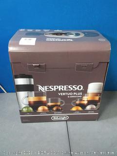 De'Longhi ENV150GYAE VertuoPlus Bundle Espresso Machine, Graphite Metal (Factory Sealed) online $149