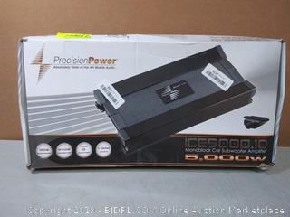 Precision Power ICE5000.1D Black Ice Series 5000W Class D Monoblock Amp (Factory Sealed) online $177