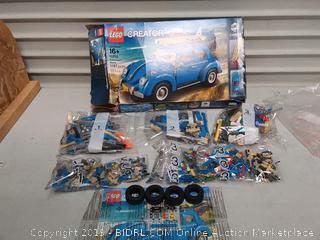 LEGO Creator Expert Volkswagen Beetle 10252 Construction Set (online $99)