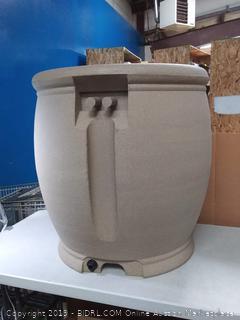 algreen products rain barrel Sandstone 100 gallon (online $288)