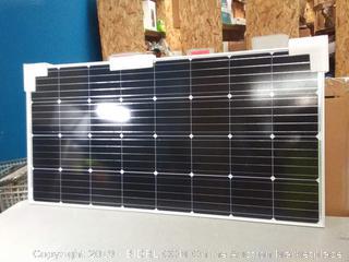 Renogy 160 Watt 12 Volt Monocrystalline Solar Panel, 160W Mono (online $219)