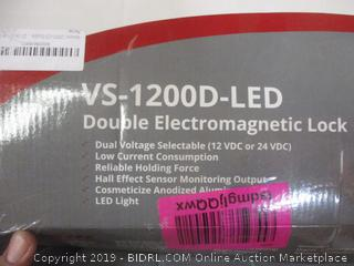 Double Electromagnetic Lock