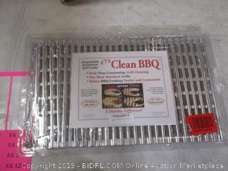Clean BBQ Disposable Grill Topper