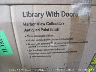 Library with Doors