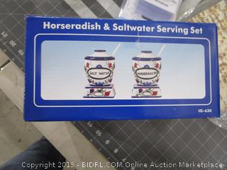 Horseradish and Saltwater Set