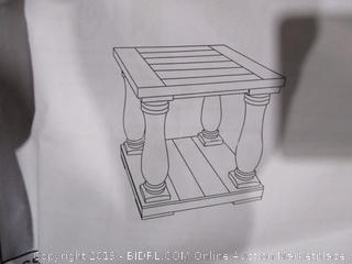 End Table Post