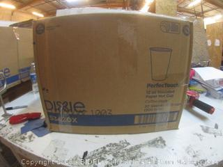 Dixie 12 oz Insulated Paper Hot Cups