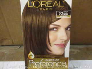 Loreal Hair Color damaged box
