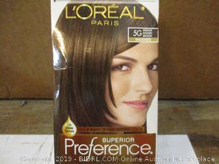 Loreal Paris Hair Color Medium Golden Brown  Warmer