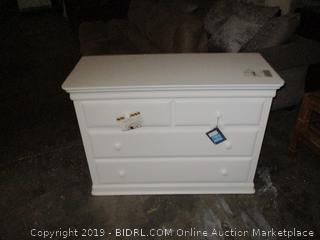 Dresser, Minor Damage, Scratch, Dirty