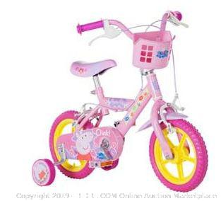 Peppa Pig 12 Inch Bike - Girls