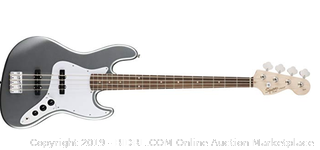 Guitar - Squier by Fender Affinity Series Jazz Bass Laurel Fingerboard (slick silver)