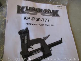 KLINCH-PAK PNEUMATIC PLIER STAPLER