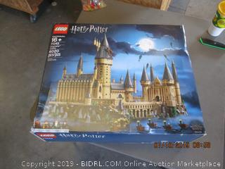 LEGO HARRY POTTER HOGWARTS CASTLE (FACTORY SEALED, OPENED FOR PICTURING)