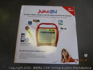 JUKE24 PORTABLE DIGITAL JUKEBOX