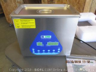 DK SONIC ULTRASONIC CLEANER (FACTORY SEALED, OPENED FOR PICTURING)
