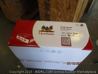 VIEWSONIC PROFESSIONAL PRO8 SERIES DLP PROJECTOR (FACTORY SEALED, OPENED FOR PICTURING)