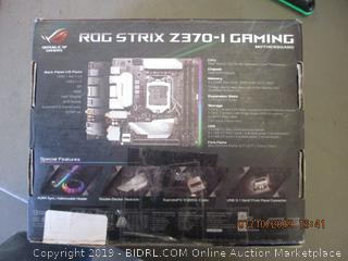 ROG STRIX Z370-I GAMING MOTHERBOARD