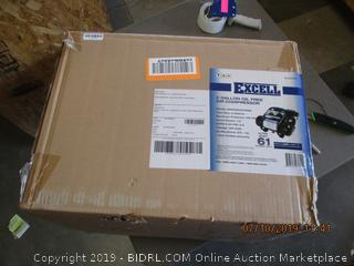 EXCELL OIL FREE AIR COMPRESSOR (FACTORY SEALED, OPENED FOR PICTURING)