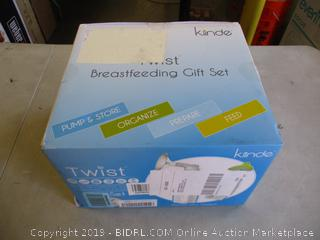 KIINDE TWIST BREASTFEEDING STARTER KIT (FACTORY SEALED)