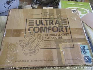 ULTRA COMFORT LEATHER SEAT COVERS