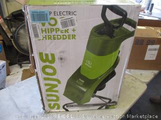 SUNJOE ELECTRIC WOOD CHIPPER & SHREDDER
