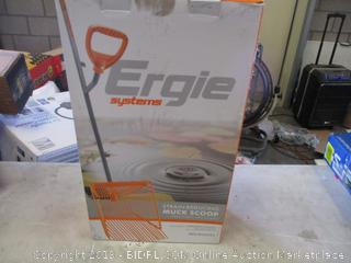 ERGIE SYSTEMS STRAIN-REDUCING MUCK SCOOP