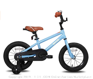 Joystar Kids Bike (14 inch wheels) for 3 to 5 years with training wheels (Online $115)