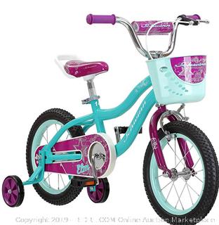 "Schwinn Elm Girl's Bike with SmartStart, 14"" Wheels, Teal (Online $115)"