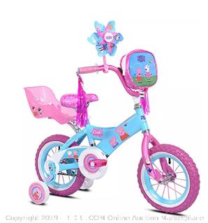 """Peppa Pig Pinwheel Bike, 12"""" (Online $75)"""
