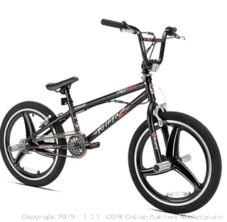Razor Agitator BMX/Freestyle Bike, 20-Inch (Online $95)