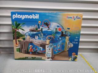Playmobil 9060 City Live Aquarium Zoo with Sea Animals