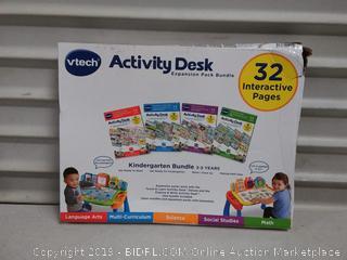 VTech Activity Desk 4-in-1 Kindergarten Expansion Pack Bundle