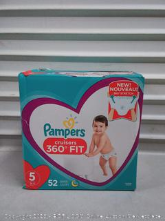 Pampers Cruisers 360 Fit Disposable Diapers Size 5 - Super Pack