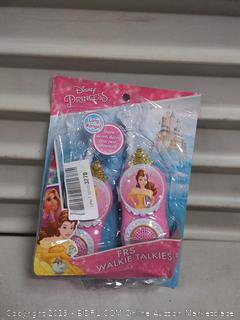Disney Princess FRS Walkie Talkie