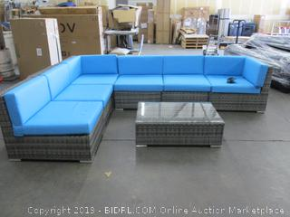 Patio Sectional w/ Coffee Table
