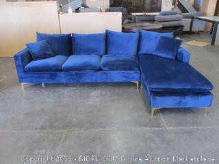 Royal Blue Sofa
