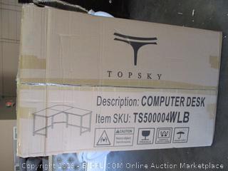 Topsky L-Shape Computer Desk (Please Preview)