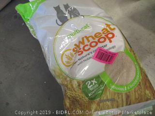 Wheat Scoop Nature's Cat Litter